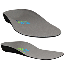 Grey Feather Insoles for Children