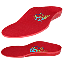 Kidsole Red Rocket Insoles for Kids
