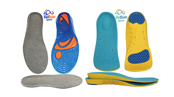 2 Pack – Combo 1 Sport Memory Foam Comfort and 1 Gel Insole