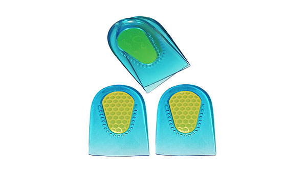 KidSole Gel Heel Cups with Arch Support