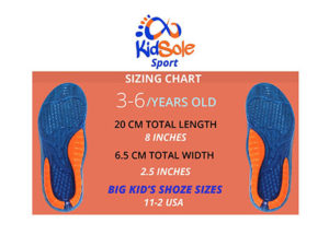 Comfortable Insoles Fits Kids Shoe Sizes 11-2