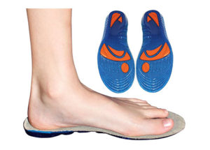 Shock Reduction and Comfort Sports Gel Insoles