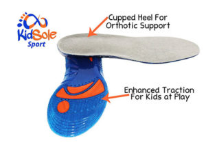 Kids Arch Support Gel Insoles