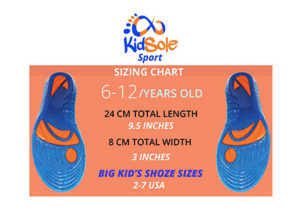 Buy Kids Shoe Sizes 2-7 Insoles Online at Kidsole