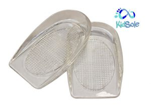KidSole Shock Absorbing Lightweight Gel Heel Cups