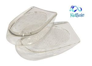 Extra Cushioning Gel Heel Cups for Kids