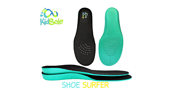 Ultra-light Shoe Surfer Orthotic Insoles