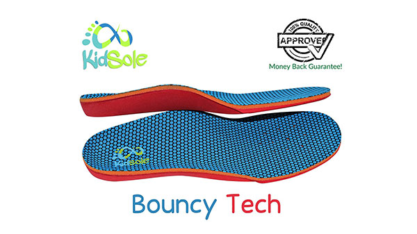 Comfortable Bouncy Tech Orthotics