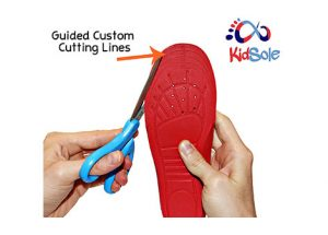 Guided Custom Cutting Lines Insoles