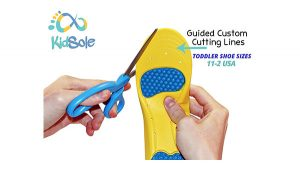 Children Athletic Memory Foam Insoles