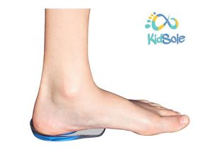 Kidsole Shock Absorbing Blue Heel Cups