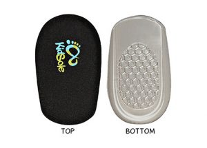 Black Jelly Heel Pads For Shoes