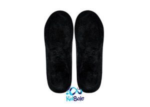 Black Orthotic Insoles for Active Kids
