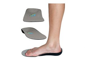Grey Lightweight Orthotic Insoles for Kids
