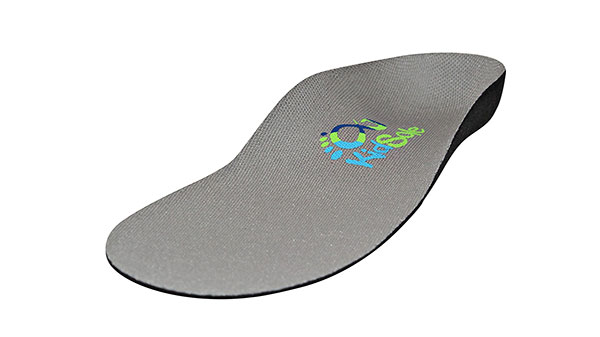 New Grey Feather Light Insoles for Children