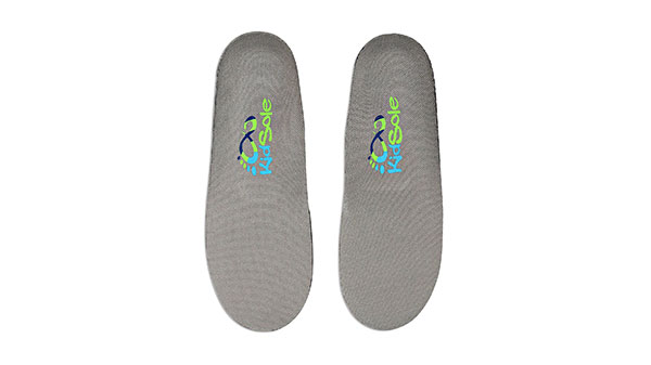 Kids Grey Feather Light Insoles