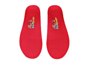 Adjustable Arch Support Red Orthotics