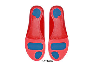 Red Soft Sole Athlete Insoles