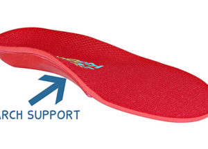 Red Shoe Insoles for Kids