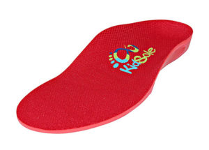 Kidsole Red Orthotic Sports Insole