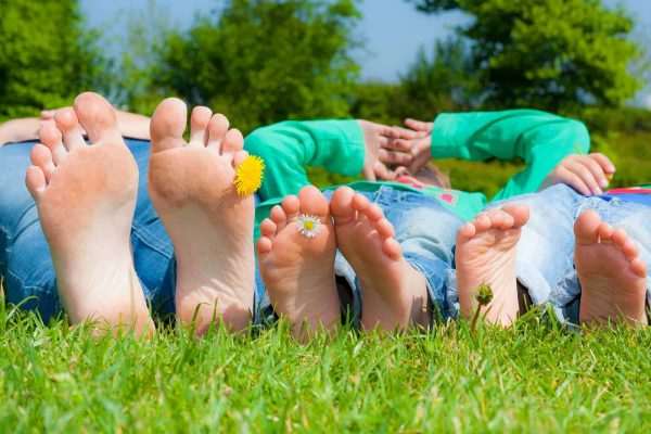 Supporting Your Kid's Healthy Feet