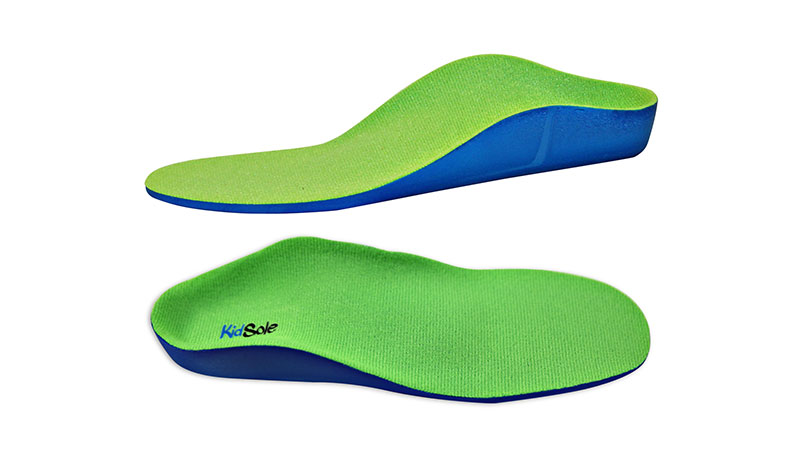 Kids Neon Fix Shoes Inserts with Heel Cups