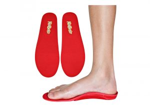 Red Orthotic Sports Insoles
