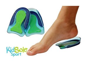 KidSole Sport Traction Shock Absorbing Lightweight Gel Heel Cups
