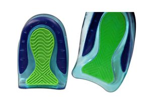 KidSole Sport Traction Shock Absorbing Lightweight Gel Heel Cups (2 pairs)