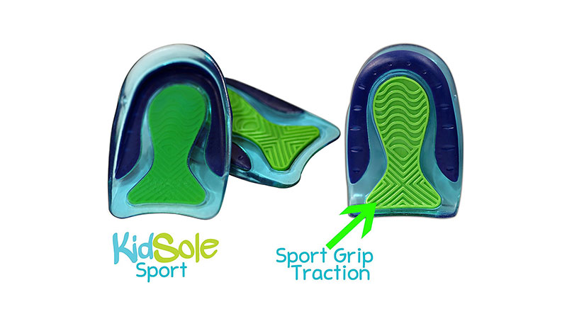 Sport Grip Traction Gel Heel Cups
