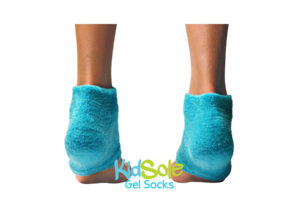 KidSole Blue Bear Gel Socks