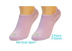 Severs Socks With Gel Heel