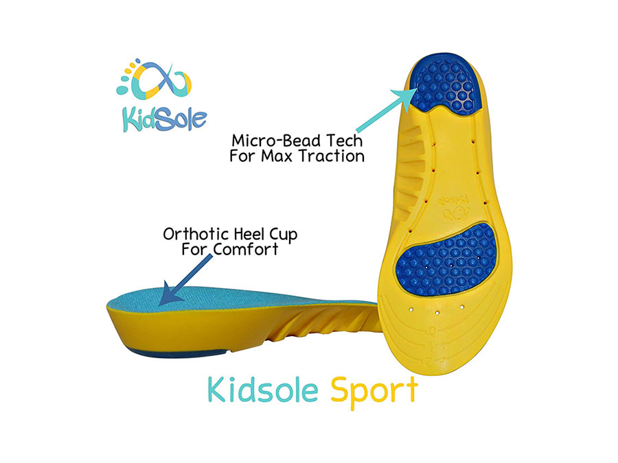 KidSole Orthotic Heel Cups