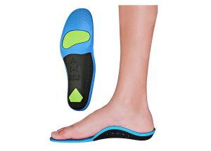 Memory Foam Starry Shield Arch Support Insoles