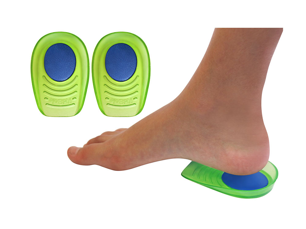 Gel + Memory Foam Shock Absorbing Heel Cups